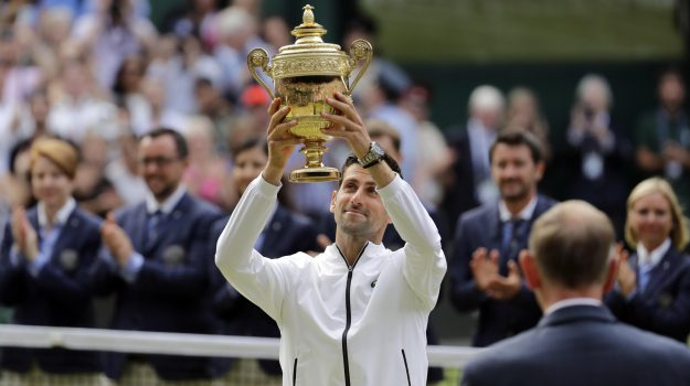 tennis, wimbledon, Novak Djokovic, Roger Federer, Sicilia, Sport