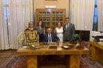 Il presidente Domenico Santoro e i consiglieri neo eletti