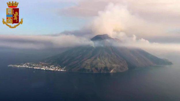 esplosione Stromboli, stromboli, Messina, Sicilia, Cronaca