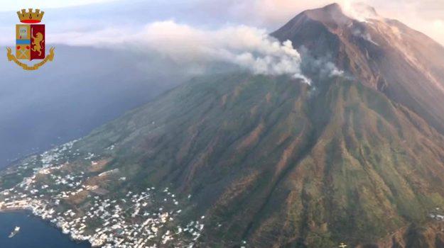 eruzione, ginostra, stromboli, Messina, Sicilia, Cronaca