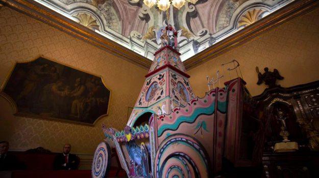 carro trionfale, Festino di Santa Rosalia, santuzza, Sicilia, Cultura