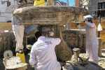 Fontana Pacino, restauro con sorpresa a Girifalco: ricomparsi i bocchettoni