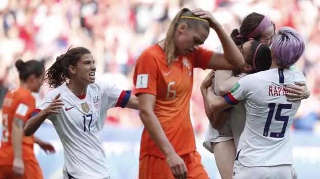Mondiali donne, Usa campioni, Usa-Olanda, Sicilia, Sport