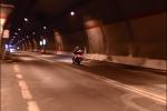 Messina, la galleria san Jachiddu riapre al traffico: divieto per i motociclisti