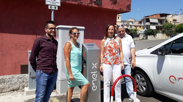 auto elettrica, enel, ricadi, Catanzaro, Calabria, Economia
