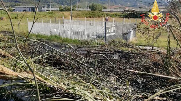 cittadella regionale, incendio catanzaro, Catanzaro, Calabria, Cronaca