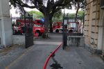Incendio in via Maddalena a Messina
