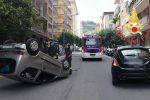 Incidente stradale a Lamezia Terme, scontro tra due auto: ferita una donna - Foto