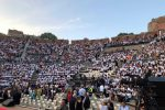 Al Teatro Antico di Taormina in 4mila per la consegna dei diplomi di laurea - Foto