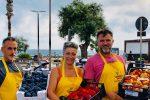 Mercato Campagna Amica a Marina di Ragusa: stand a due passi dal mare