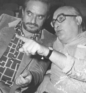Massimo Mollica e Camilleri