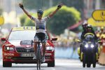 Tour de France, vittoria italiana con Trentin a Gap