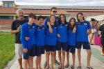 Nuoto, 13 medaglie ai campionati regionali estivi per la Arvalia Lamezia