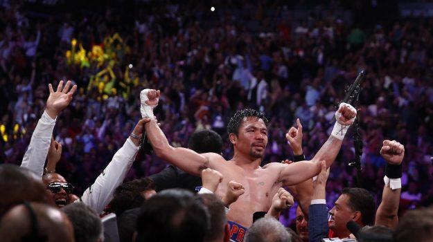 boxe, Pacquiao titolo Wba, super welter, Manny Pacquiao, Sicilia, Sport