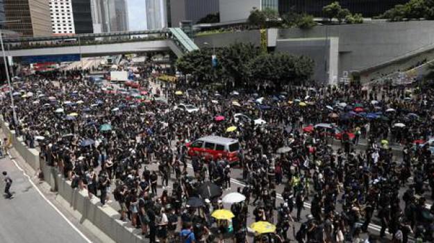attivisti, barricate, democrazia, hong kong, protesta, Carrie Lam, Sicilia, Mondo