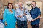 """""""Pace e spiritualità"""", premiato a Taormina il fotografo messinese Rocco Papandrea"""