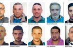 Sparatoria in mezzo al traffico a Crotone, 11 condannati per un totale di 70 anni: nomi e foto