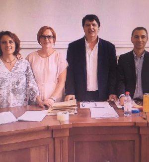 Stefania Mantelli, Rossella Barillari, Aldo Aloi, Francesco Carioti