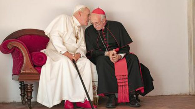 The two popes, Anthony Hopkins, Jonathan Pryce, Sicilia, Cultura