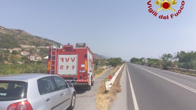 cosenza, potenziale ordigno, statale 18 Tirrenica, vigili del fuoco, Cosenza, Calabria, Cronaca