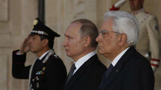 russia, ue, vaticano, Papa Francesco, Vladimir Putin, Sicilia, Mondo