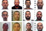 Le mani della mafia sul traffico di droga da Napoli a Palermo: nomi e foto dei 12 arrestati