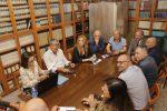 A sinistra il presidente degli avvocato Dina Marasco