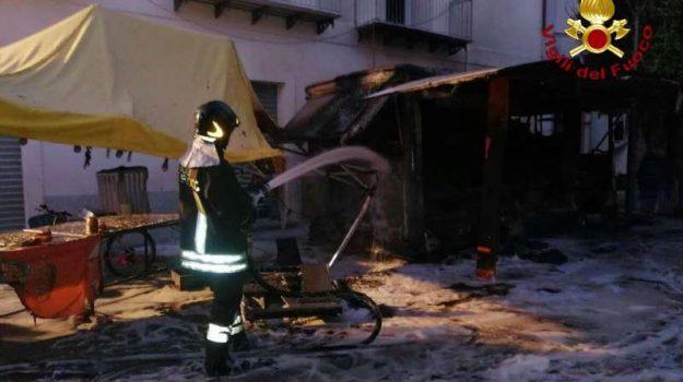 vibo valentia, vigili del fuoco, Catanzaro, Calabria, Cronaca