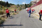 Messina, pulizia all'Annunziata: gli operatori sono i consiglieri di circoscrizione e residenti - Foto