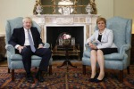 Brexit: Boris in Scozia esalta l'unità, ma è subito scontro