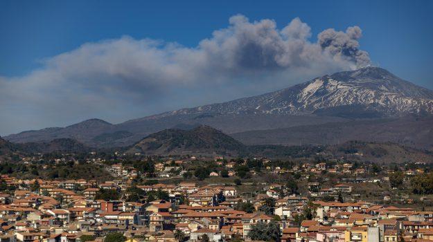 etna, scossa, terremoto, vulcano, Sicilia, Cronaca