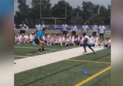 Football, il campione viene battuto da un ragazzino di 11 anni Mai sottovalutare un avversario, anche se è solo un bambino - Dalla Rete