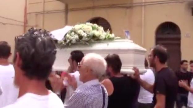 funerale, incidenti, partinico, Fabio Provenzano, Francesco Provenzano, Sicilia, Cronaca