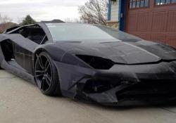 Il papà e il figlio si sono stampati una Lamborghini in garage L'Aventador ha un motore preso da una Corvette - CorriereTV