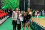 Da Vibo al titolo nazionale: Ilaria e Antonio campioni italiani di danza sportiva