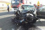 Terribile incidente sulla Statale 106 a Cropani Marina: 4 feriti, due sono bambini - Foto