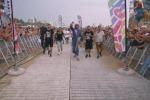 Jovanotti porta in spiaggia la sua Woodstock