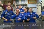 L'astronauta Luca Parmitano a bordo della Stazione Spaziale: «È fantastico»