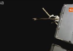 La Soyuz con 'AstroLuca' Parmitano aggancia la Stazione Spaziale, il video dell'arrivo La capsula Soyuz si è agganciata al modulo russo Zvezda della Stazione Spaziale - Agenzia Vista/Alexander Jakhnagiev