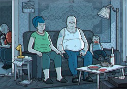 La (tristissima) versione sovietica dei Simpson: il remake in stile Chernobyl è inquietante La famosa sigla dei Simpson in versione sovietica dell'artista d'animazione Lenivko Kvadratjić - CorriereTV