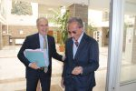 L'ex sindaco Mascaro e l'imprenditore Gatto