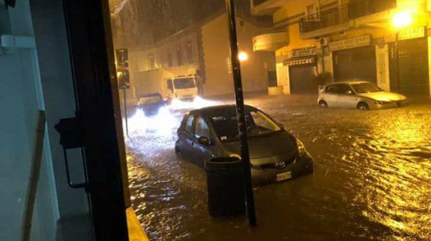 MALTEMPO CORIGLIANO ROSSANO, nubifragio corigliano rossano, Cosenza, Calabria, Cronaca