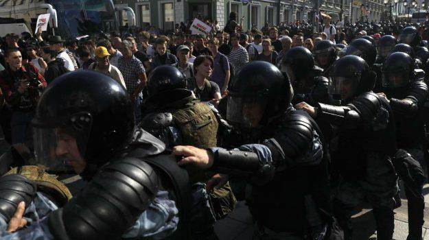 mosca, proteste, russia, Vladimir Putin, Sicilia, Mondo