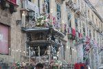 Il Festino di Santa Rosalia a Palermo, la processione in diretta - Live