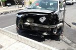 Incidenti, scontro frontale a Giampilieri Marina: tre feriti - Foto