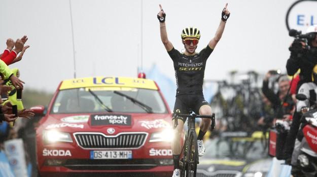 ciclismo, tour de france, Julian Alaphilippe, Simon Yates, Sicilia, Sport