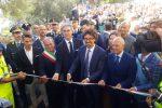 """Provinciale 23, Toninelli inaugura il tratto Joppolo-Coccorino: """"Giorno importante"""""""