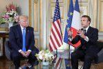 Donald Trump e Emmanuel Macron