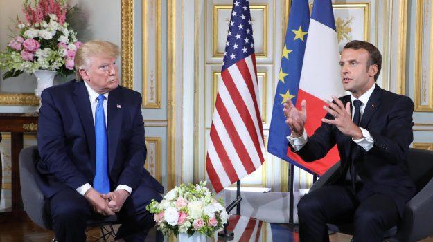 digital tax, stati uniti, Donald Trump, Emmanuel Macron, Sicilia, Mondo