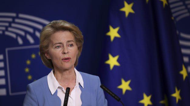 unione europea, Ursula von der Leyen, Sicilia, Mondo